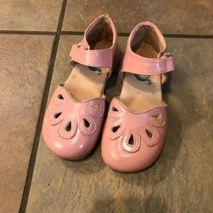 Livie & Luca Mary Jane pink petal shoes size 11
